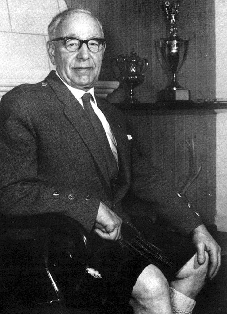Willie Sloan BEM, one of the founding fathers of the RSPBA and a prime movere in the establishment of the Association's own World Pipe Band Championship