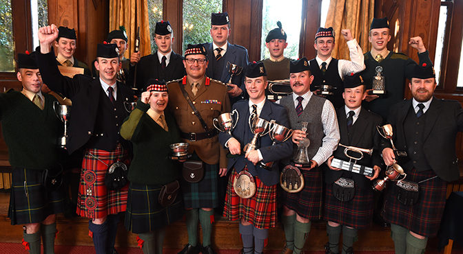 Report on the Army Contest/ Date for Capt. John MacLellan Mem./Pipes for Sale/ Young Piper