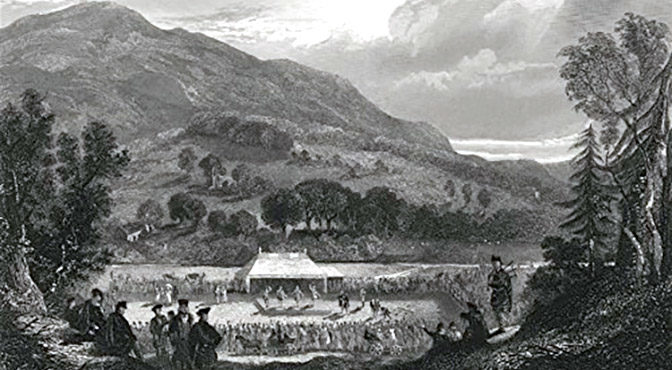 History: St Fillans Games and Grumbling Pipers From 1821