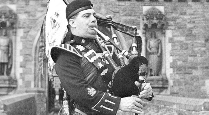 Famous Pipers: More on Captain John A MacLellan MBE
